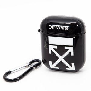 Off-White Print AirPod Case Gloss Black